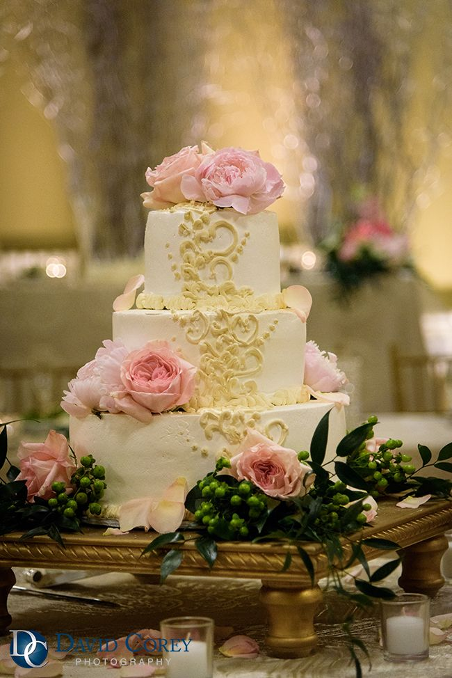 Photo by David Corey Photography. Cake by Checkerboard Cheesecake ...