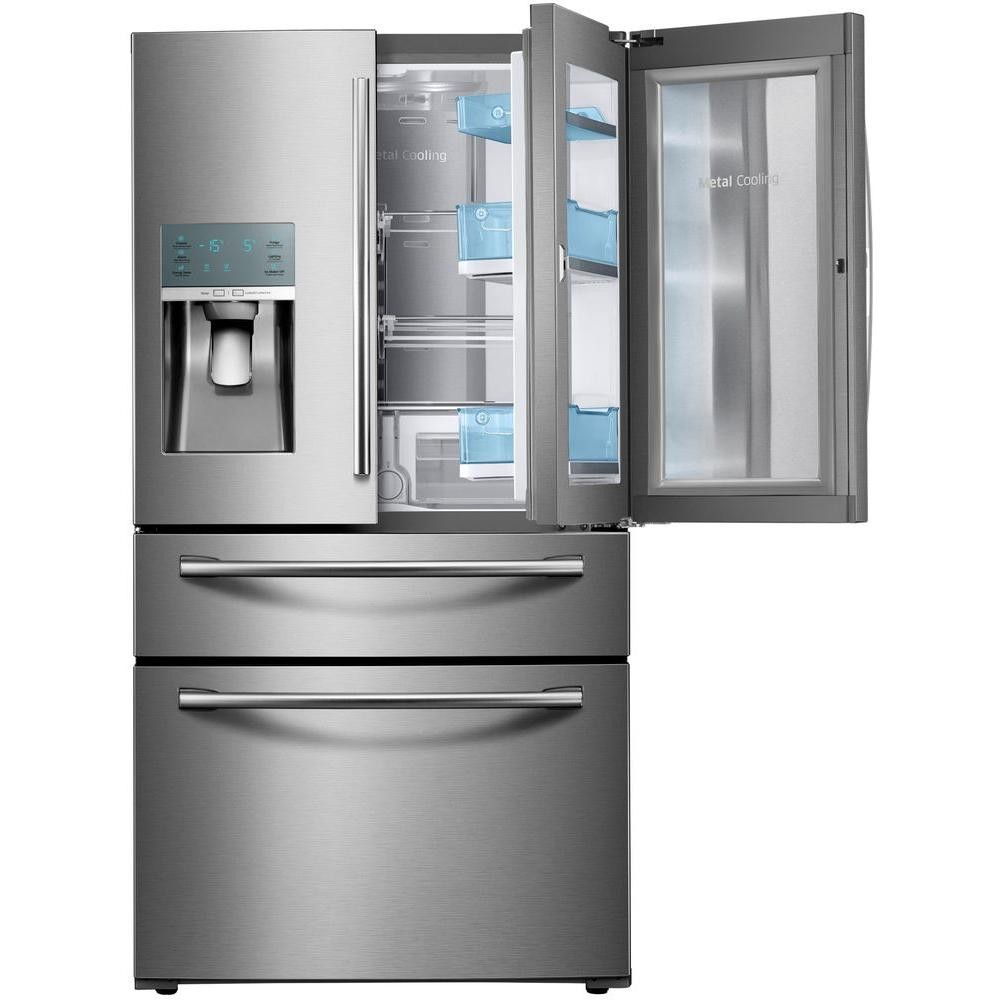 2018 Samsung Cabinet Depth French Door Refrigerator   Kitchen Remodeling  Ideas On A Small Budget Check