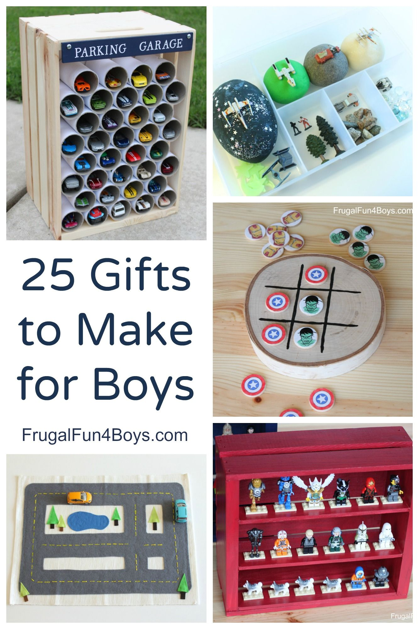 25 more homemade gifts to make for boys homemade boys and gift 25 gifts to make for boys homemade toys that boys will go for solutioingenieria Gallery