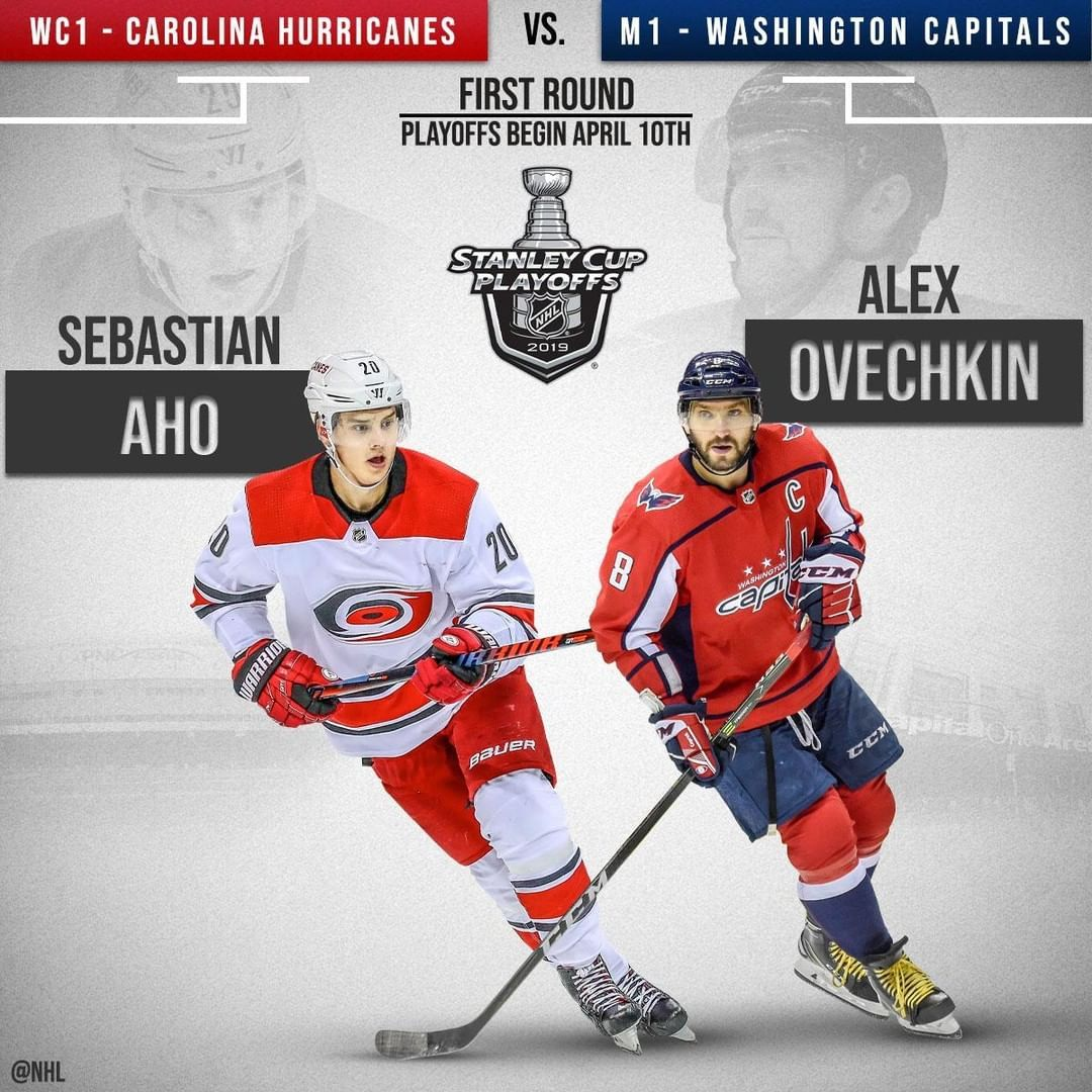 Nhl Oh Yes It S Happening Two Metro Division Squads In The Capitals And Nhlcane Nhl National Hockey League Carolina Hurricanes