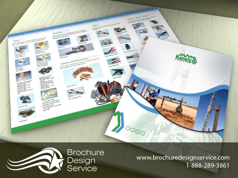 Superb Design Of A Bi Fold Brochure   Industrial Company   Examples, Free  Designers Inspiration