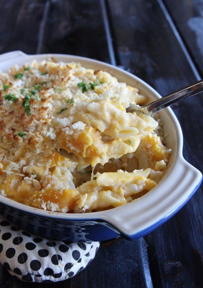 Butternut Squash Mac and Cheese | The Hopeless Housewife