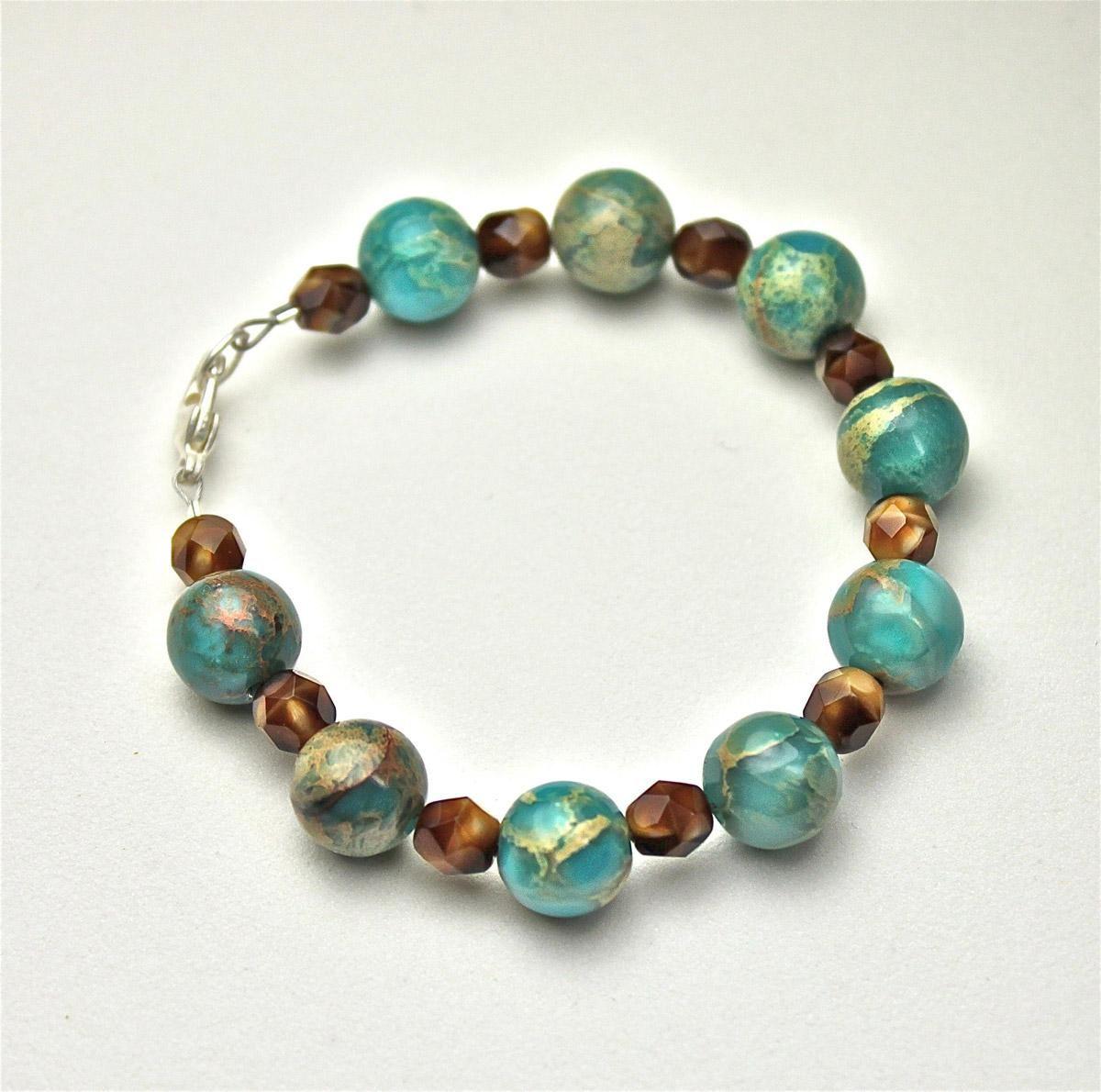 large bead bracelet | I can do it too | Pinterest | Bracelets ...