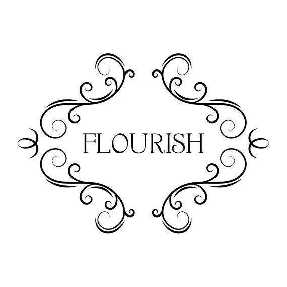 Download Flourish frames SVG | Decorative scroll borders, Swirls ...