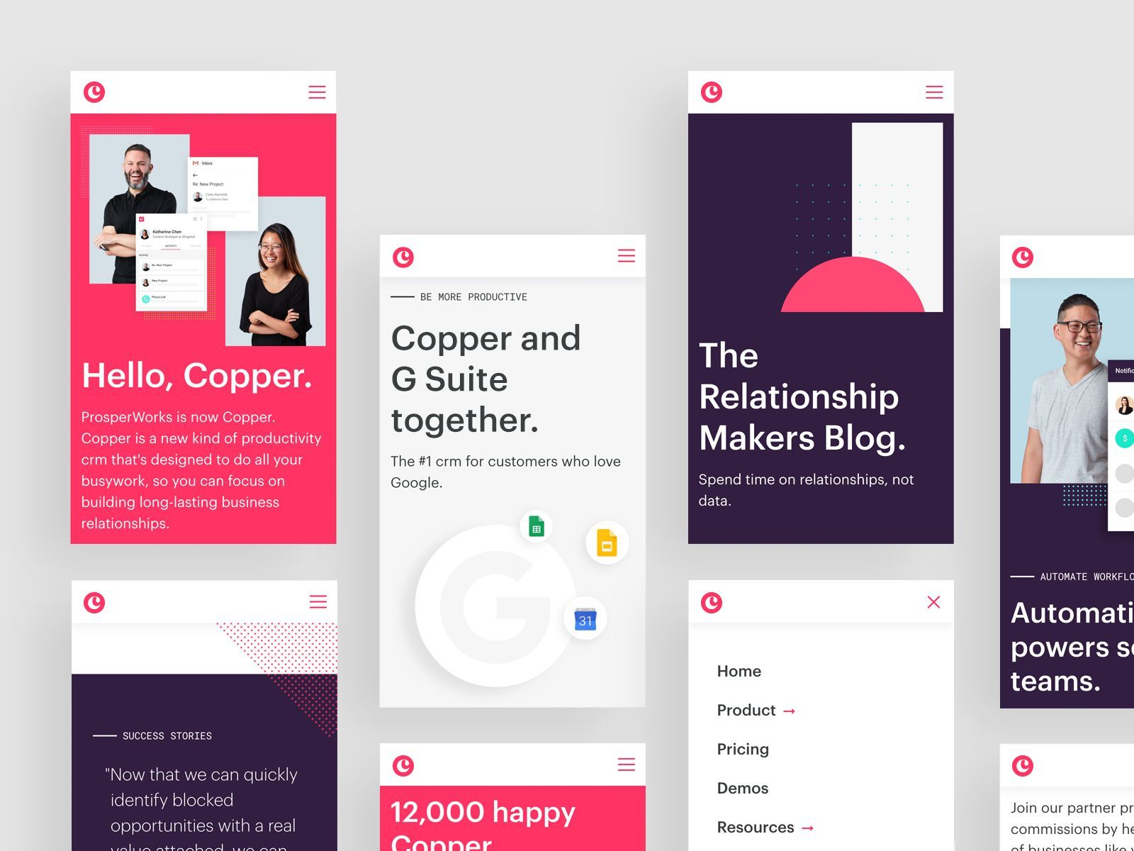 Copper Mobile Web Mobile Web Design Web App Design Web Design Software