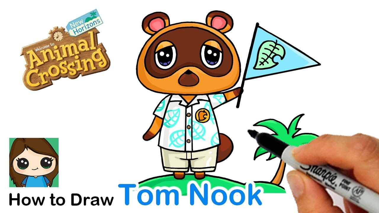 How To Draw Tom Nook Raccoon Animal Crossing In 2020 Animal Crossing Tom Nook Animal Crossing Pet Raccoon