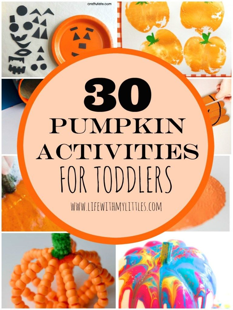 Photo of 30 Pumpkin Activities for Toddlers