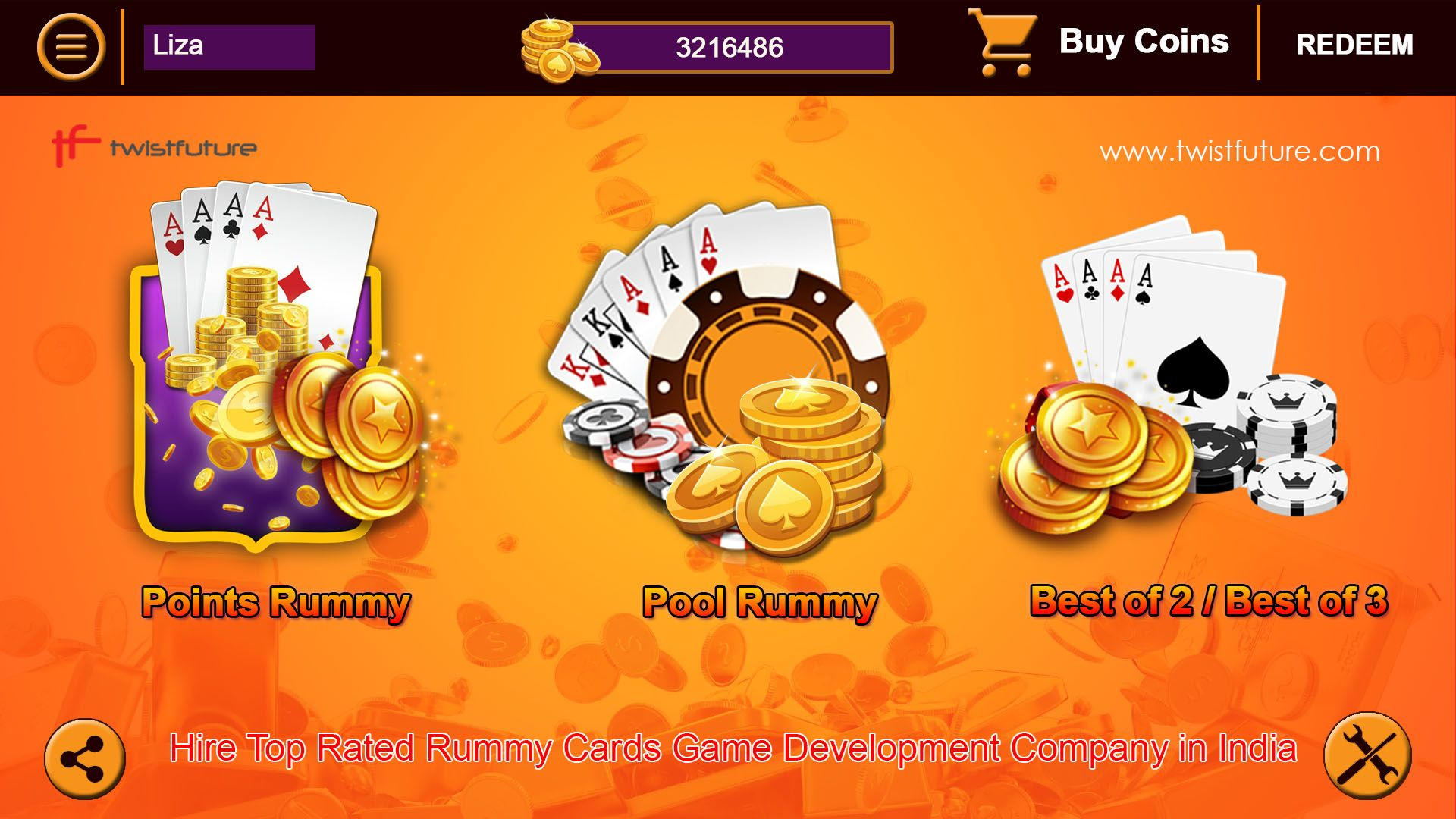Hire Top Rated Rummy Cards Game Development Company In India