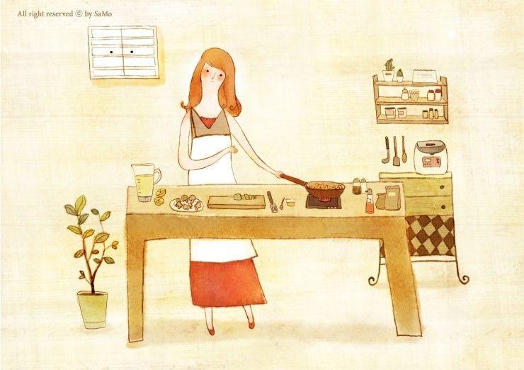 (cooking : illust2)