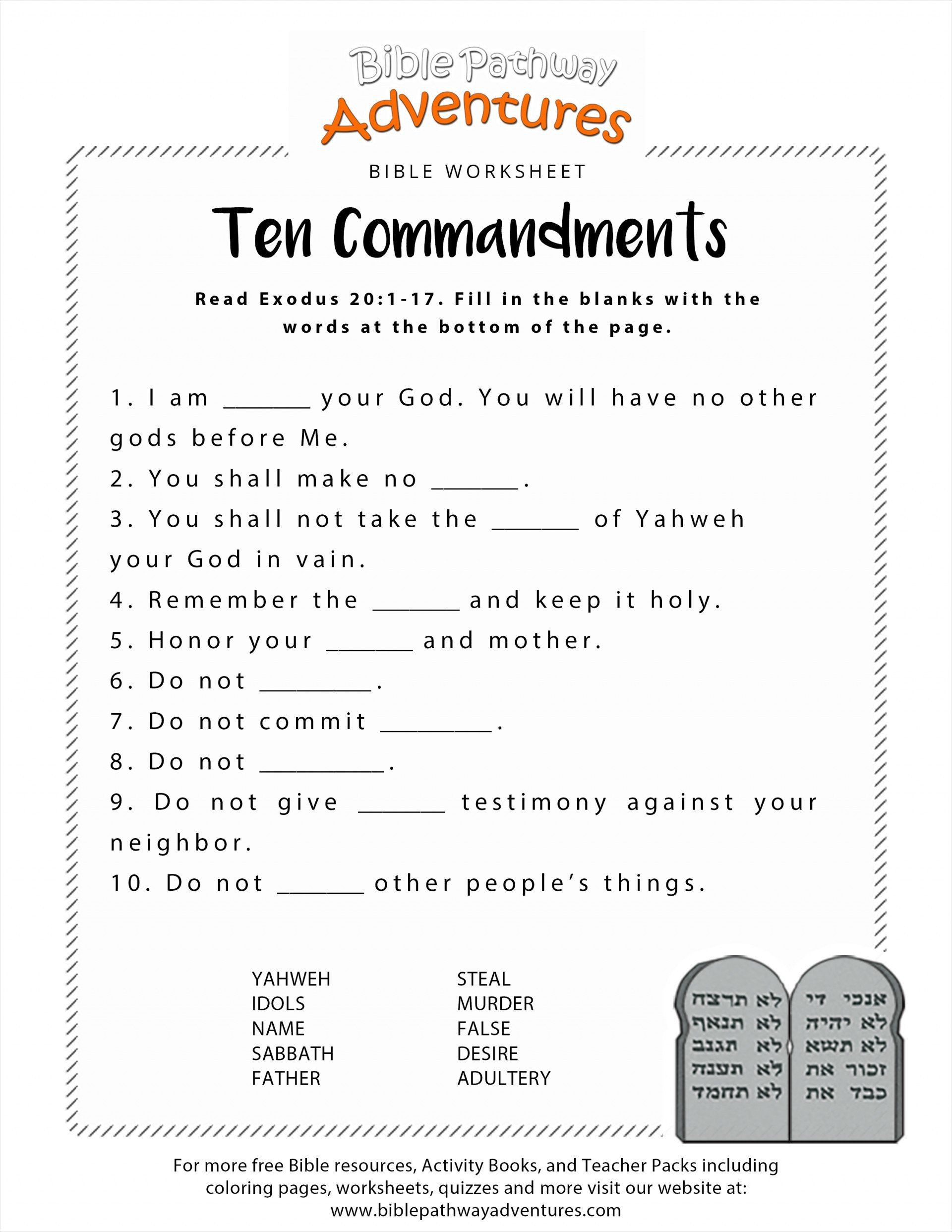Ten Commandments Coloring Pages Beautiful 040 Mandments