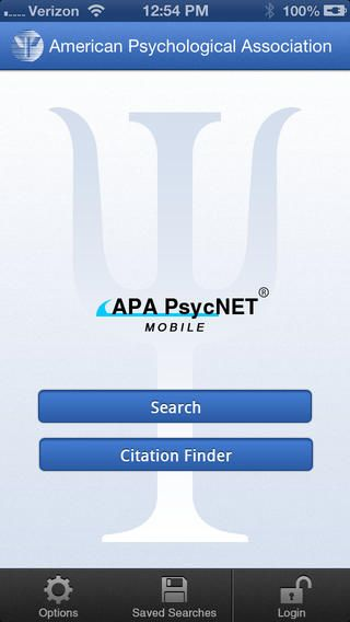 have an iphone ipad or ipod touch download the free apa psycnet
