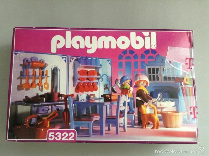 playmobil playmobil cocina 5322 5300 casa victoriana