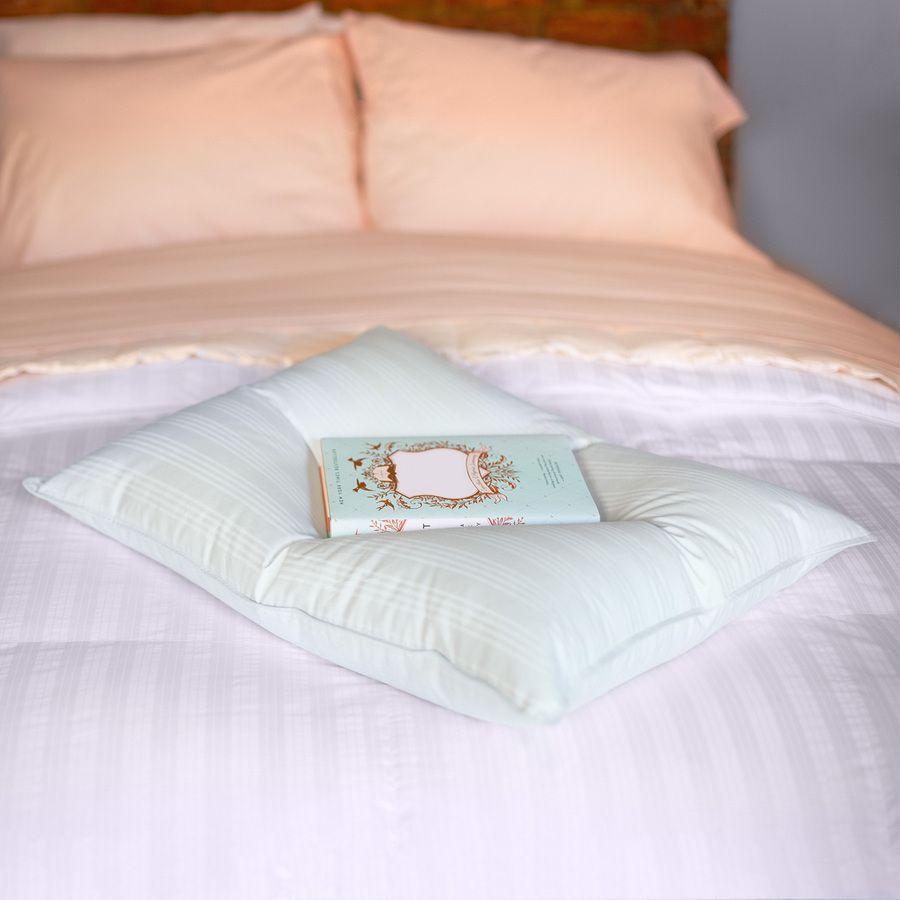 TWO Downlite Primaloft Luxury Pillow Down Alternative By Downlite