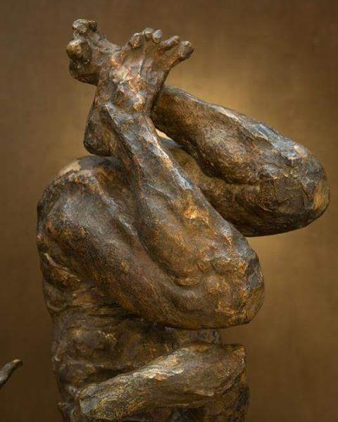 #JavierMarin, #javiermarinescultor. #escultura de #bronce a la cera perdida. #Arte, #artecontemporaneo, #figurahumana. Perdido #sculpture #bronze cera. #art, #contemporaryart, #humanbody.