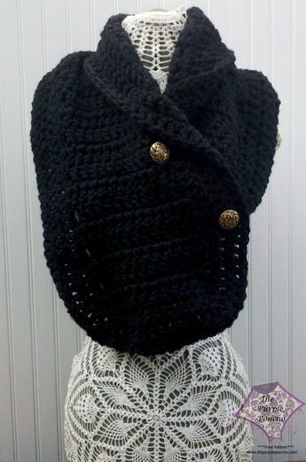 Easy Double Crochet Scarf, free crochet pattern on the Purple Poncho ...