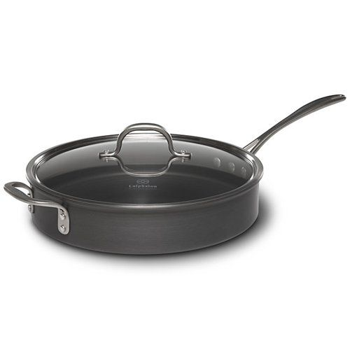 Commercial Saute Pan With Lid Size 5 Qt Details Can Be Found By Clicking On The Image This Is An Amazon Affil Calphalon Saute Pan Hard Anodized Cookware Calphalon 5 qt saute pan