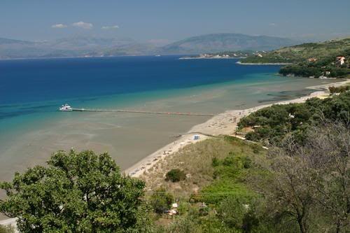 Kalamaki beach corfu, greece