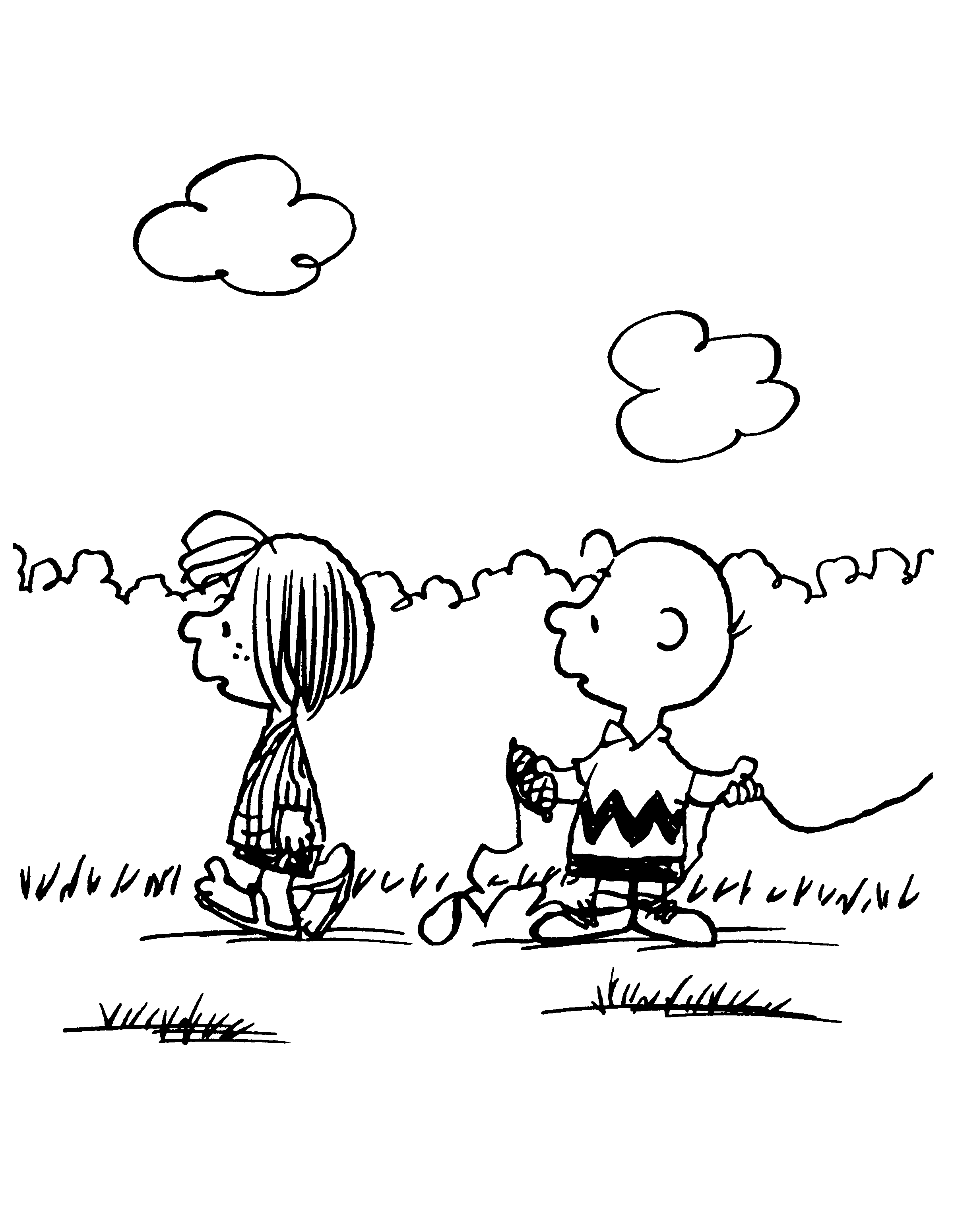 Peppermint Patty And Charlie Brown  10