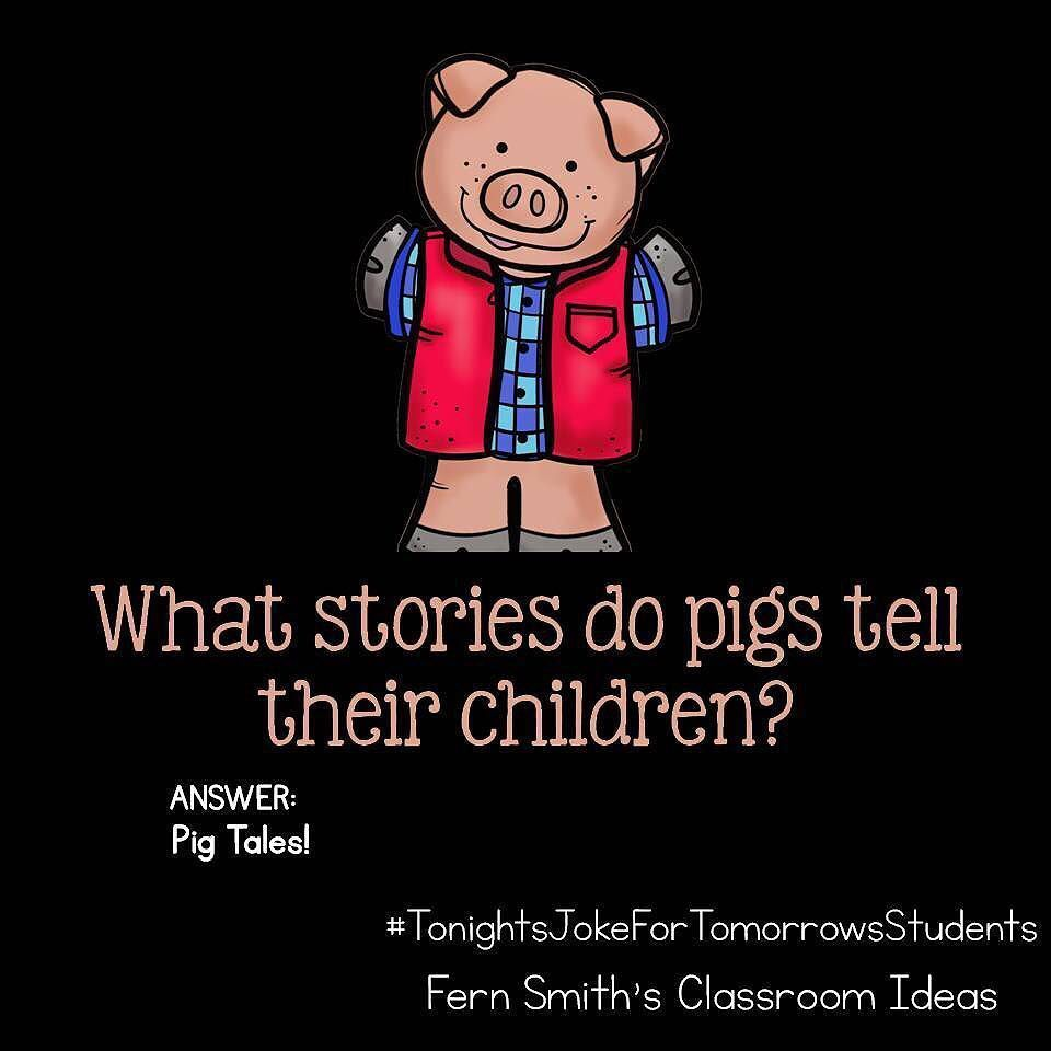 Tonight's Joke For Tomorrow's Students What Stories Do