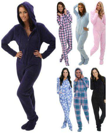 these are perfect for teens too. adult onsie footie pajama hoodie ...