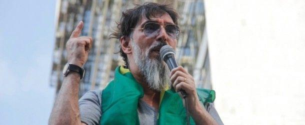 Lobão arregaça as mangas na luta pela democracia