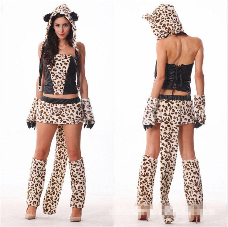 stock item sexy wolf costume leopardsexy halloween costumes for womencat girl costumes - Womens Wolf Halloween Costume