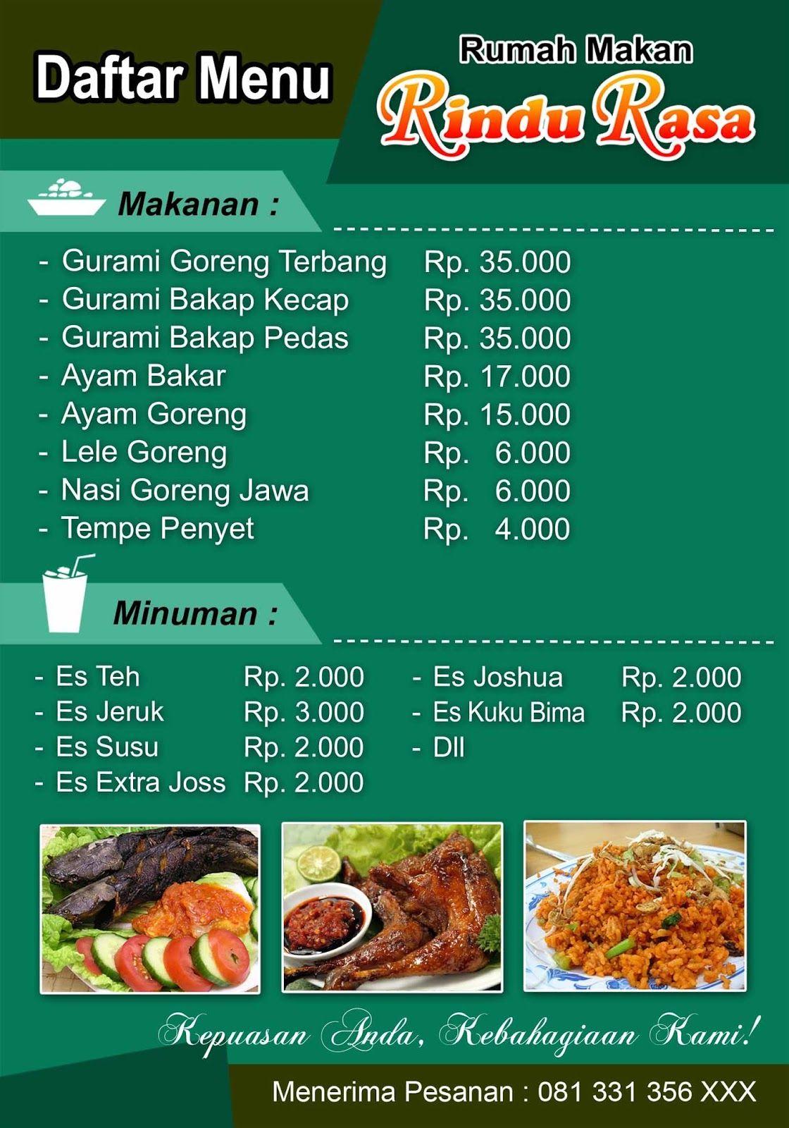 Image result for Daftar Menu Makanan | Makanan, Ayam goreng