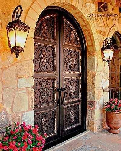 Mediterranean Style Front Doors: Pin By Susana Valencia On Elegant Entrances, Stairs