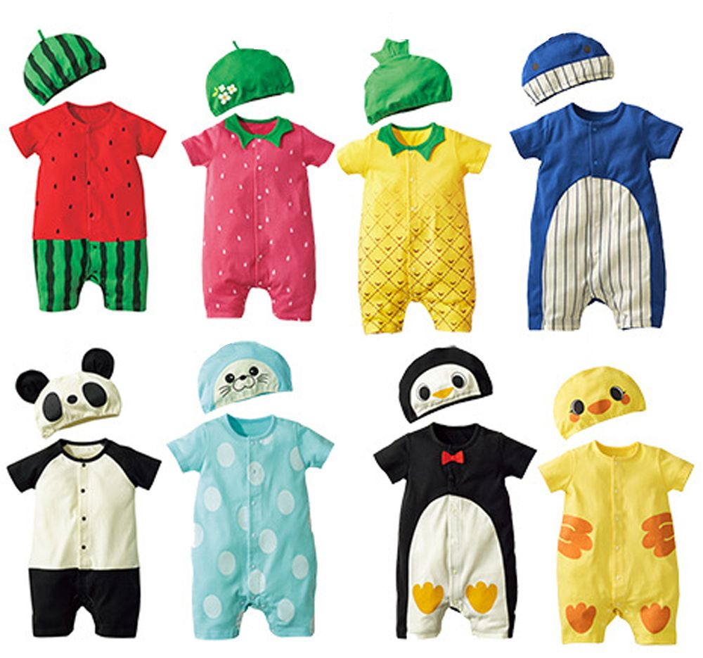 05d1adb13173 Click to Buy    Fashion Baby Clothes Cartoon Baby Boy Girl Rompers ...