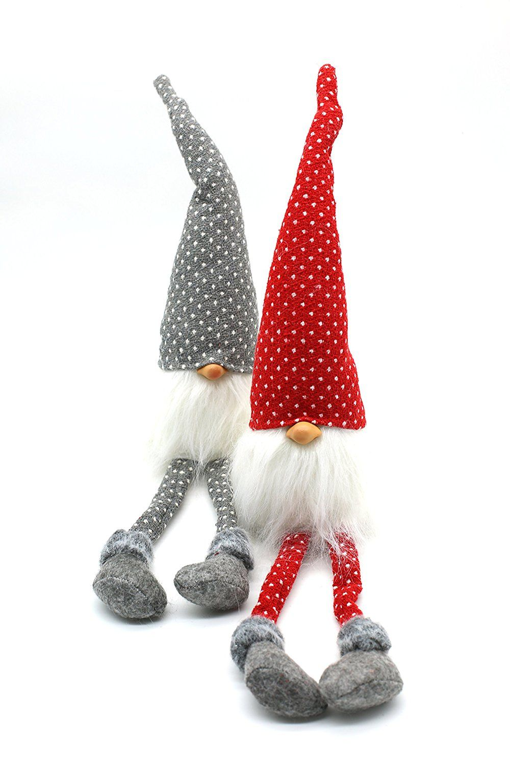Amazon Com Handmade Swedish Tomte Nisse Santa Sockerbit Sven Gnome Holiday Home Decoration Christmas Plush Christmas Table Decorations Christmas Decorations