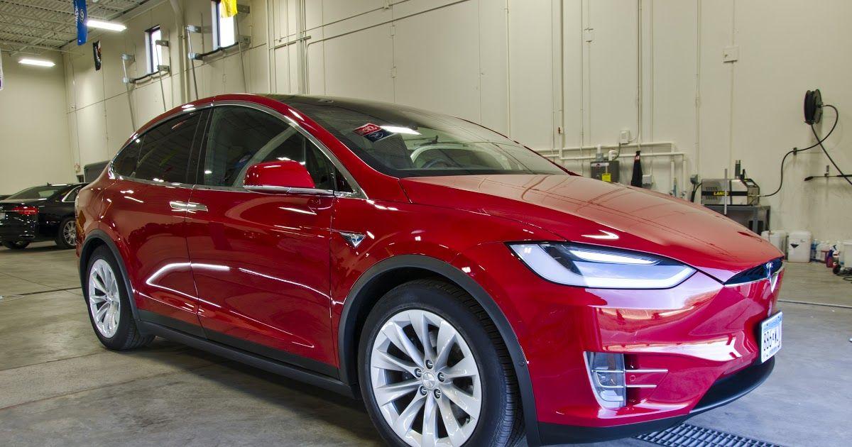 Red Model X Tesla in 2020 Tesla, Best suv
