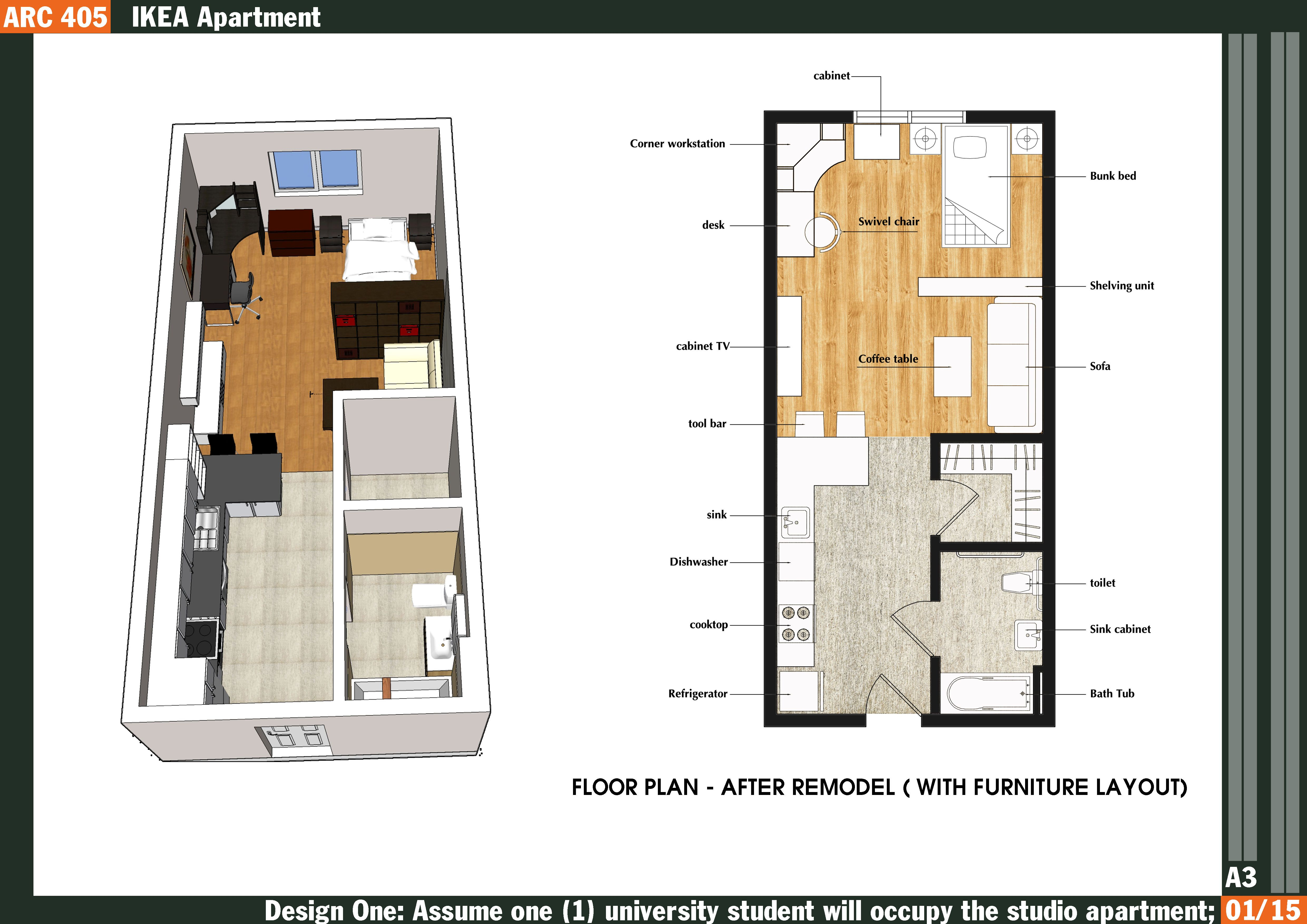 Studio Floor Plan Ideas: Plans With Furniture Layout Best Home Design And