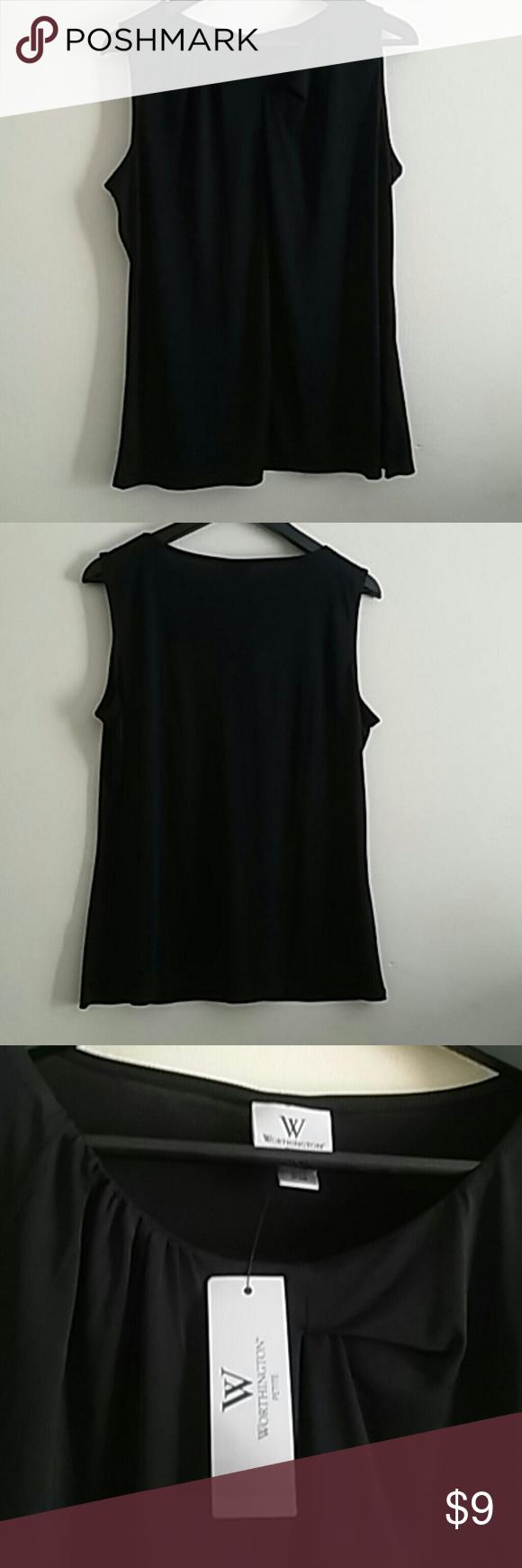 Blouse Black blouse. Worthington Tops Blouses