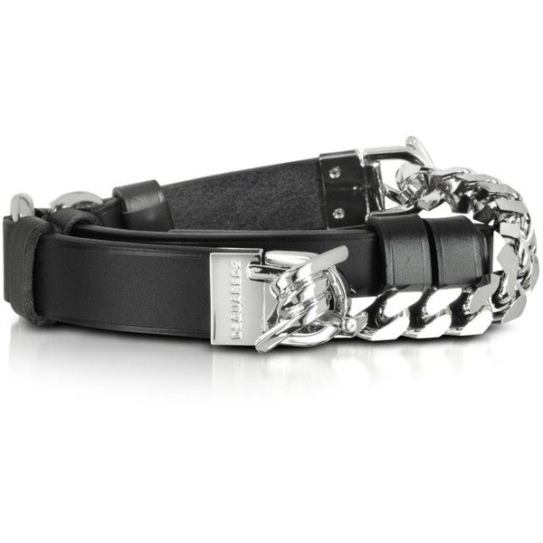 Dsquared2 Designer Women S Belts Babe Wire Black Leather And Silver Tone Metal Women S Belt Real Leather Belt Belts For Women Womens Designer Belts