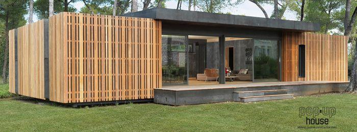 De popup house een energieneutraal huis is goedkoop for Goedkoop vrijstaand huis bouwen