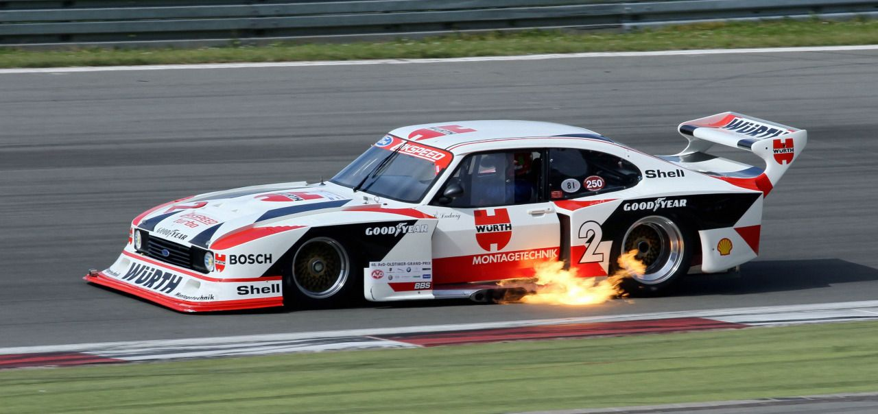 Ewr Slotted Photo Ford Capri Classic Racing Cars Ford Racing