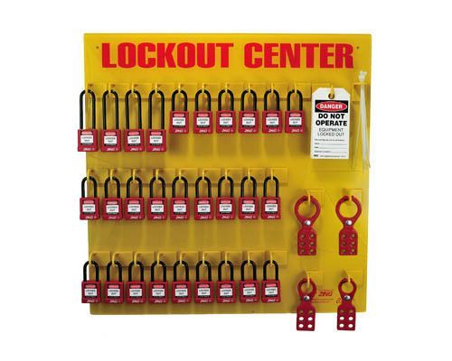 Lockout Tagout Station, 28 Padlock