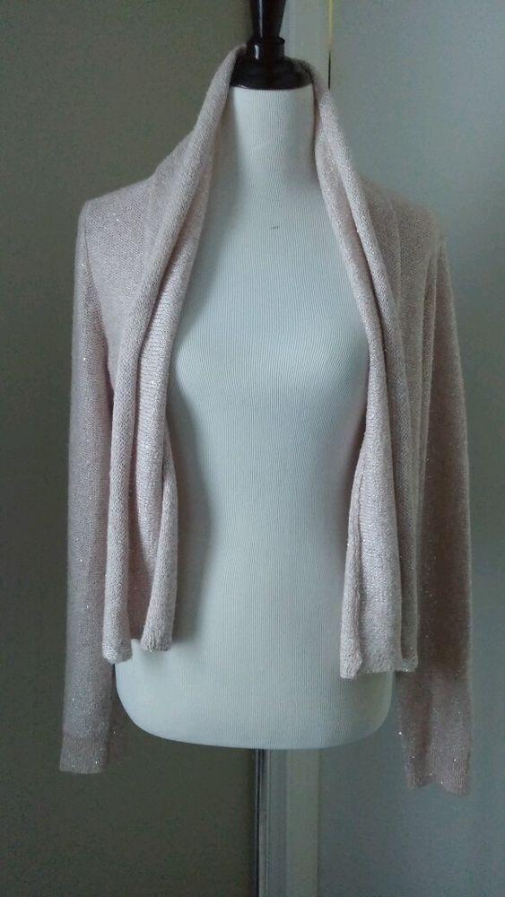 Anthropologie Pink Sequin Cardigan sz L NWOT MSRP $98 - sold out ...