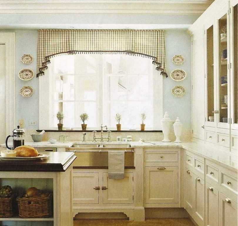 Ideas For Kitchen Curtains Kitchen Curtain Ideas For Large Windows