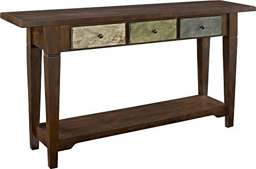 Altra Sage Console Table With Drawers Multi Colored Rust Https Www Amazon Com Dp B00h8t7dss Ref Cm Sw Console Table Round Coffee Table Living Room Table