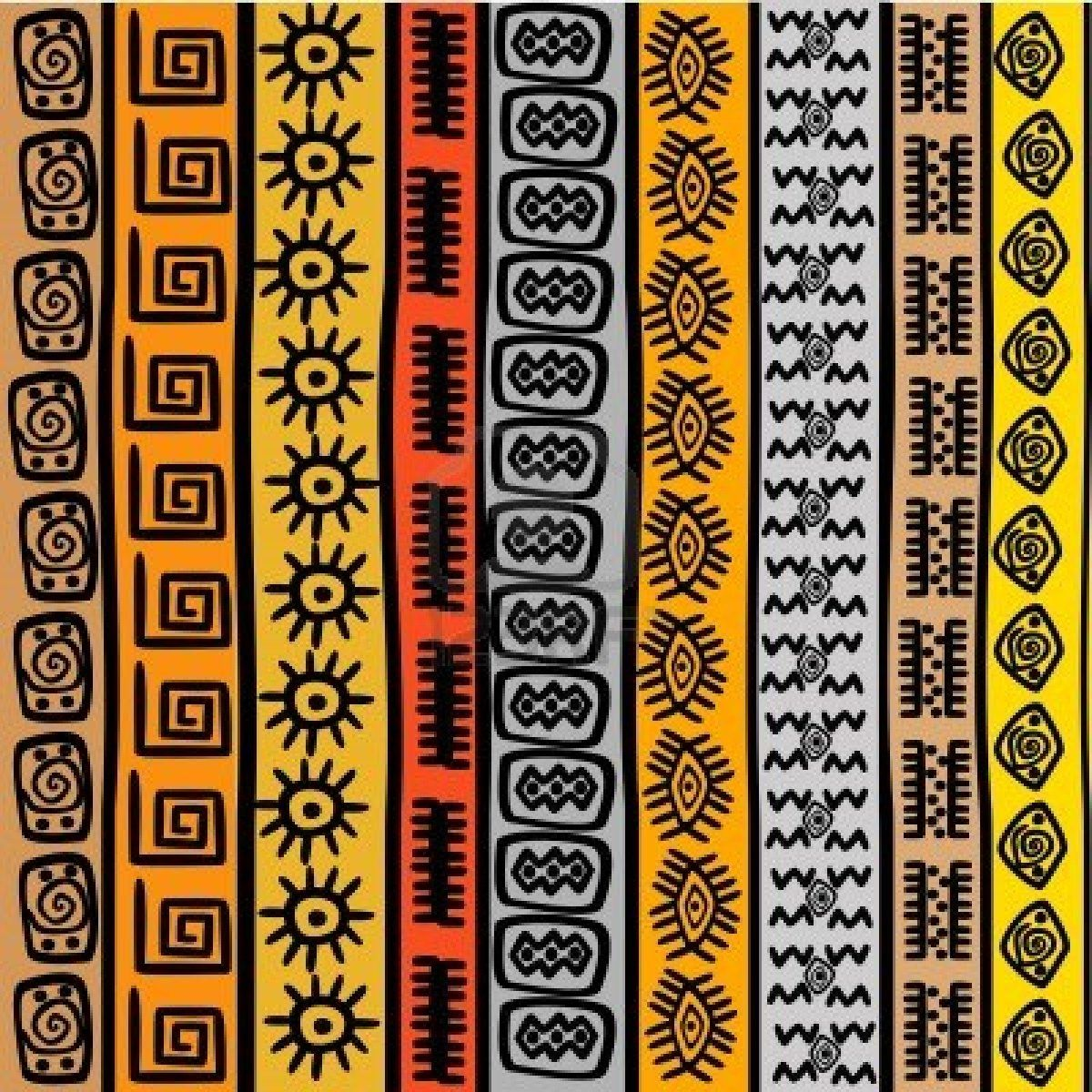 African patterns - fabric                                                                                                                                                     More