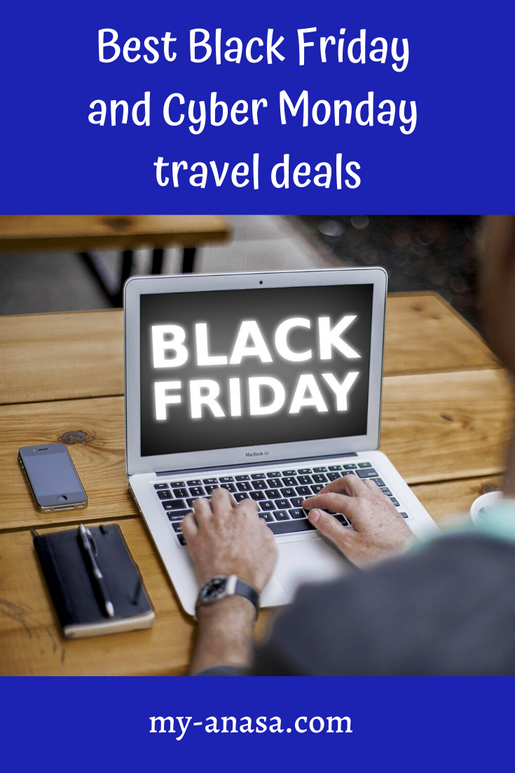 Take advantage of Black Friday and Cyber Monday travel deals. You have the opportunity to book your tickets, to reserve a room, or to purchase travel gadgets for a cheap price. Explore the offers and act between November 29 and 2 December. Let's explore the selection of the best offers. #blackfriday #blackfridaysales #blackfridayshopping #cybermonday #cybermondaysale #traveldeals #traveldealswebsite #traveldealscheap