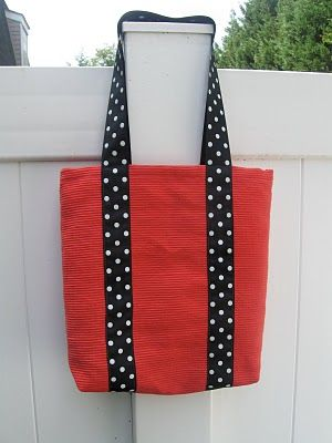 Tutorial : Fast & Frugal tote bag