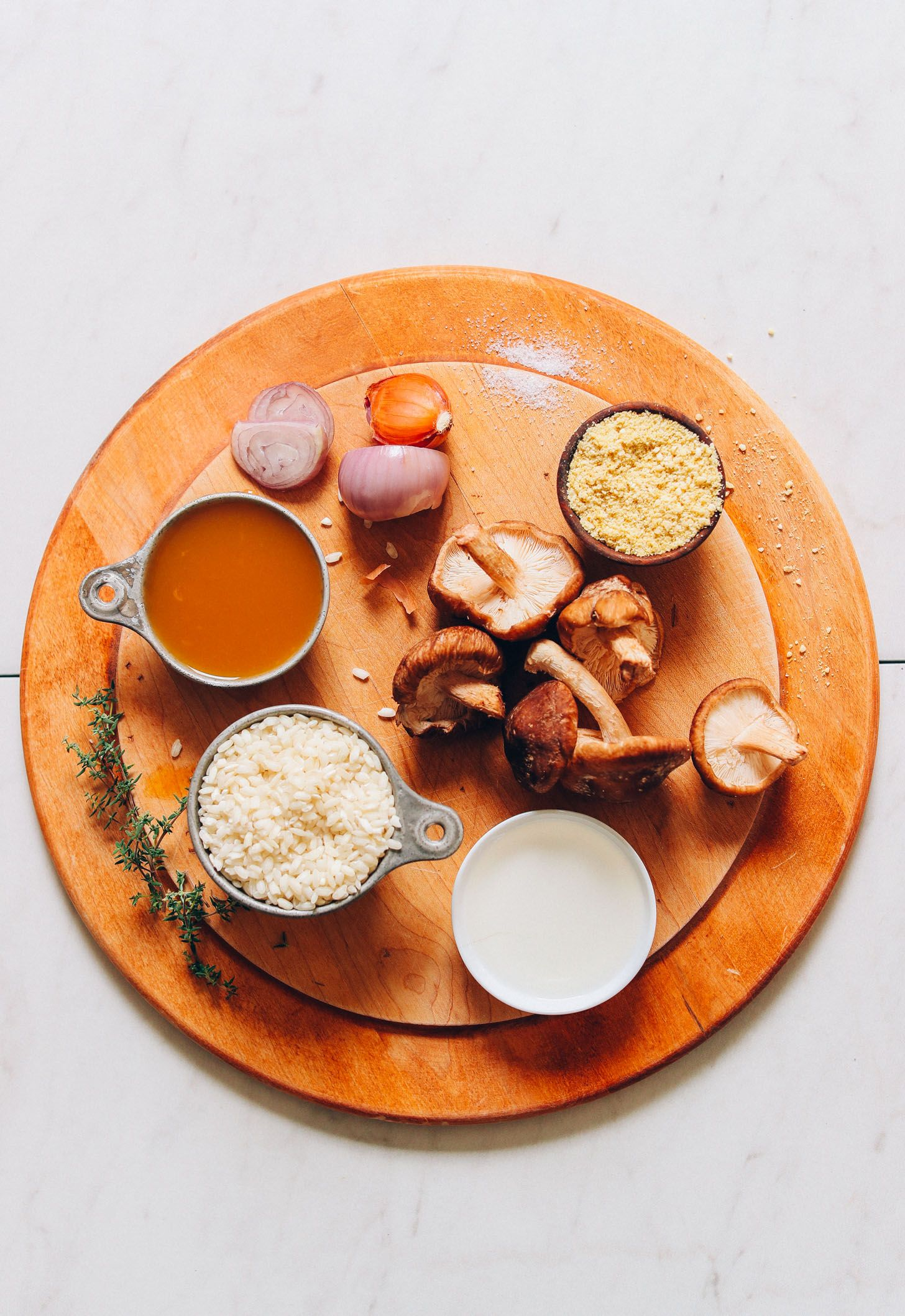 Caramelized Shiitake Mushroom Risotto Recipe Stuffed Mushrooms Mushroom Risotto Baker Recipes
