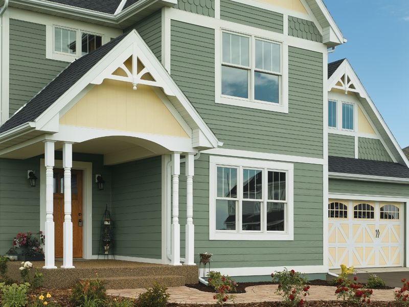 Certainteed Vinyl Siding With Scallops Certainteed Vinyl Siding Vinyl Siding Colors Vinyl Siding