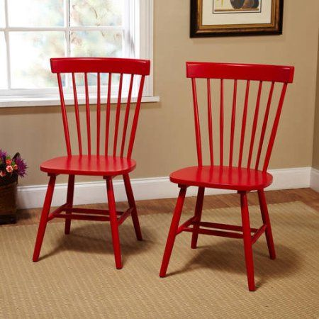 Venice Chair Set Of 2 Multiple Colors Red