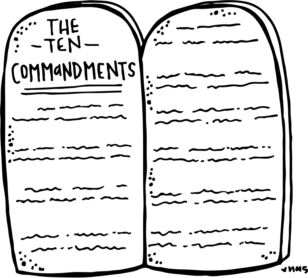 Melonheadz LDS illustrating: Ten Commandments Freebie