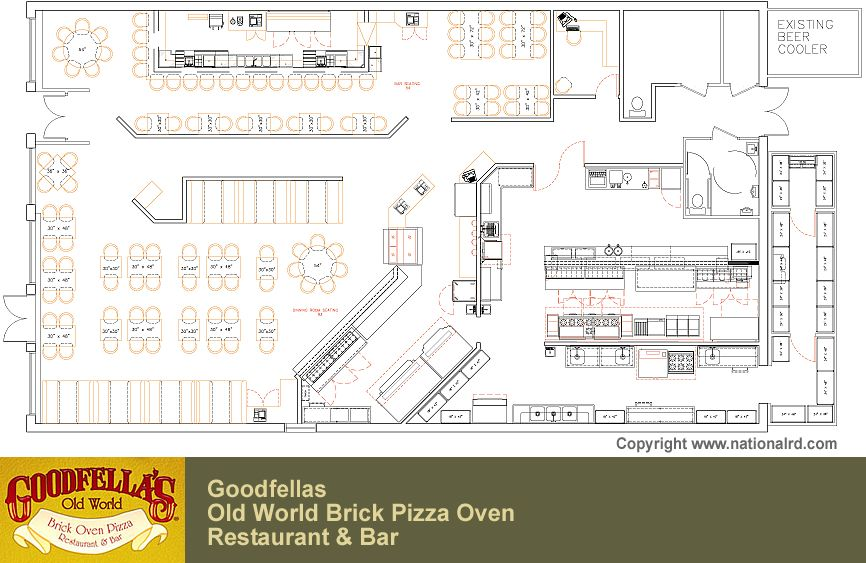 Pizza Restaurant Kitchen Layout plain pizza kitchen layout modren open design 833 x 555 92 kb jpeg