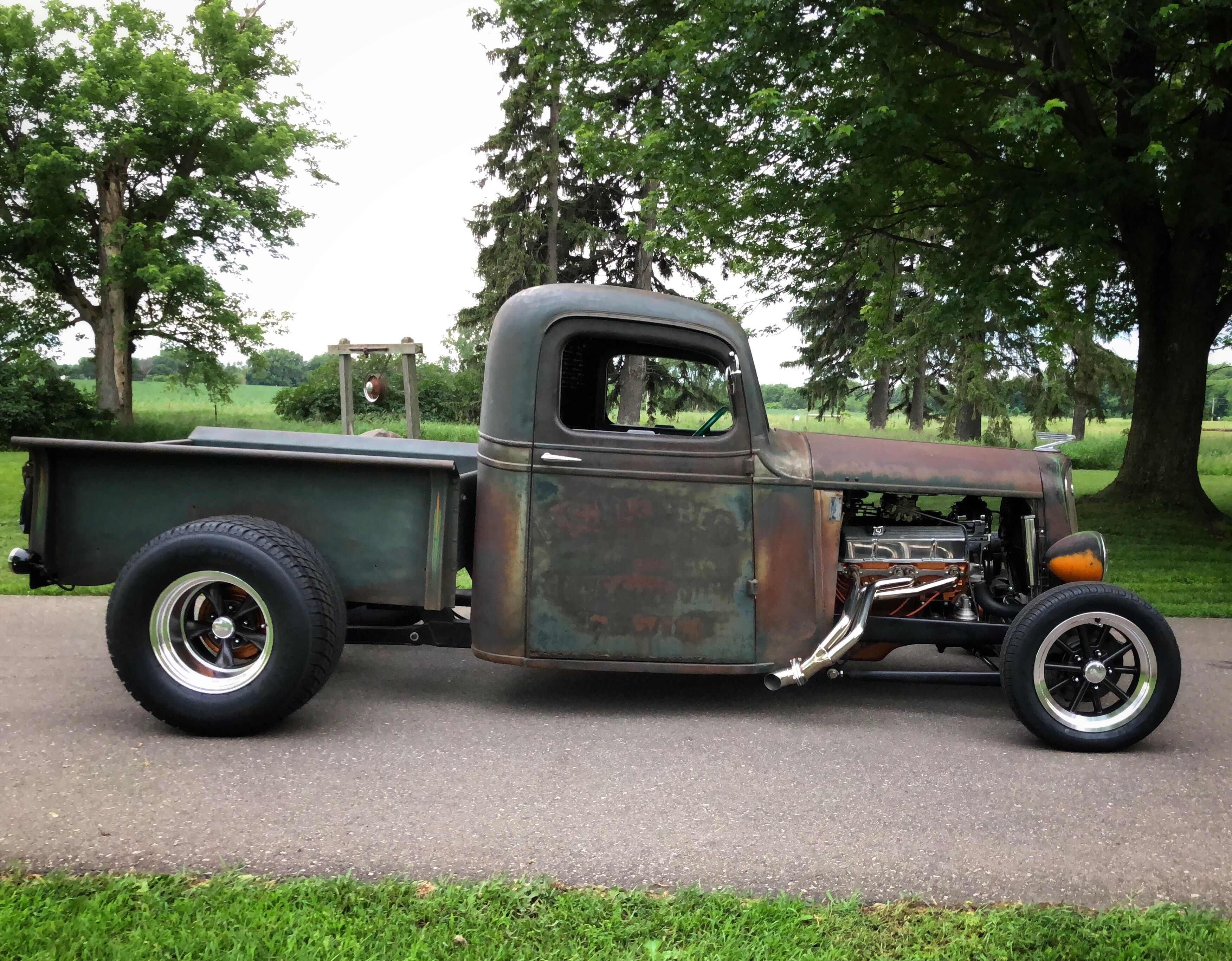 1937 Chevrolet Rat Rod Pickup Truck Rat Rods Truck Rat Rod Hot Rod Trucks