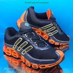 a061e3d82b8 adidas-A3-Mens-MegaRide-Running-Trainers-sz -8-5-Blue-Orange-Bounce-EU-42-6-US-9
